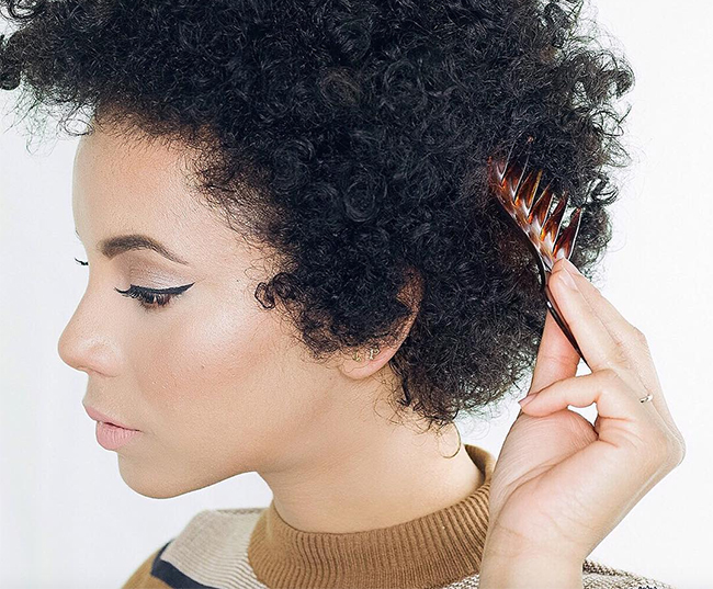 How To Easily Manage Your Thick Natural Hair When Your Have A Sensitive Scalp