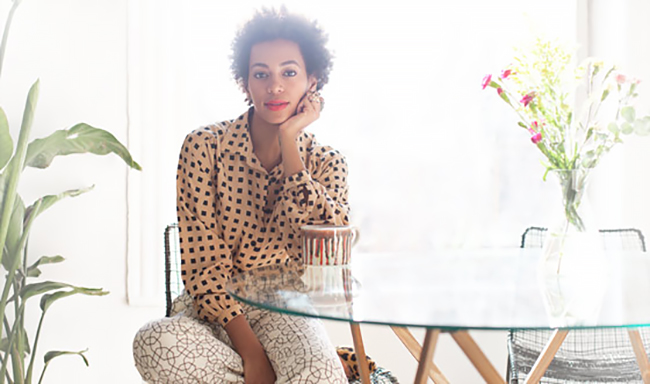 Solange Knowles Natural Hair Routine