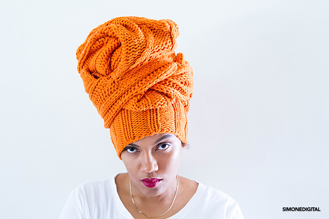 The Sweater Head Wrap/ How To Wrap Your Hair