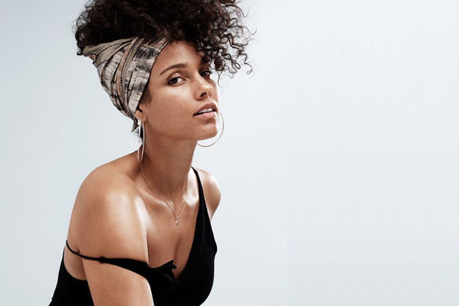 How To Get Alicia Keys No Makeup Look
