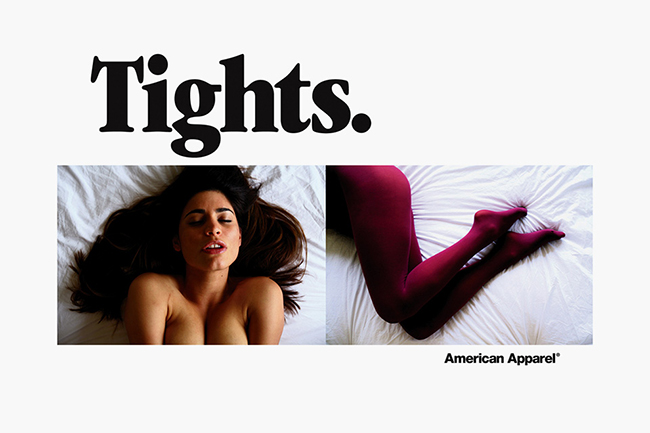 American Apparel Sexist Ads Rape Culture